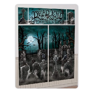 Decor. Pared Kit Cementerio