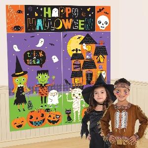 Set Decorado Amigos de Halloween