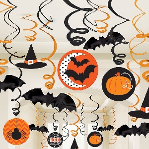 Decor. Colg Surtida Halloween