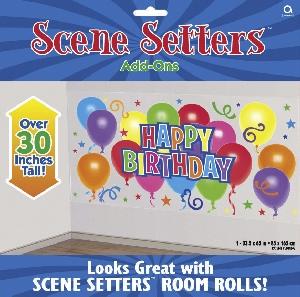 Decorado de pared General Birthday Scene Setters