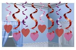 DEC Espiral colgante CANDY HEARTS