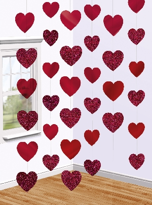 Decoracion Tira :CANDY HEARTS