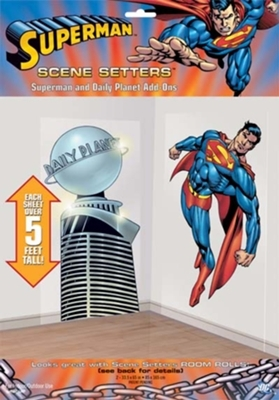DECOR.ESCENA SUPERMAN DAILY PLANET