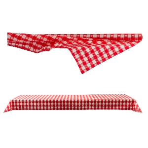 MANTEL ROLLO TS GNG CK RED PL 40''''X10
