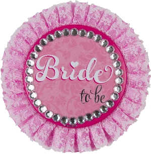 Chapa Hen Party Bride to be Deluxe 11cm
