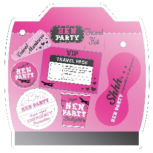 Juguetes Hen Party In Flight Survival Pack