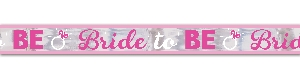 Banderin Hen Party Bride to Be Foil 7.6m