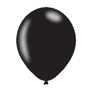 GLOBOS 27.5cm: NEGRO PERLA