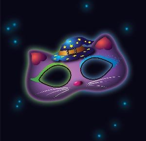Juguetes Fancy Glow Cat Mask