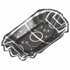 BOWLS PEQUEÑOS 17x9,5cm FUTBOL