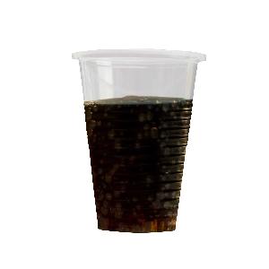 VASOS Plas Half Pint Glas 10fl oz