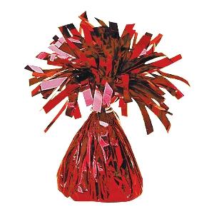 Peso Globo foil:red