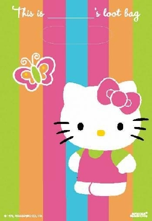 Bolsa chuches/juguetes (8) Hello Kitty (OFERTA)