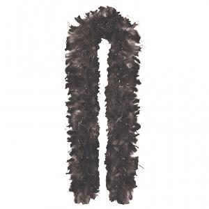 GNO FEATHER BOA 1.8m Negro