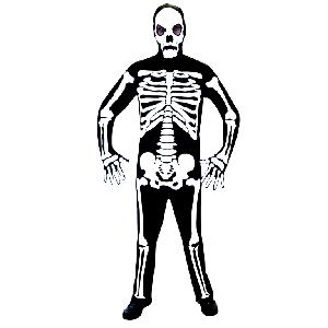 Esqueleto Disfraz de Halloween Talle Único
