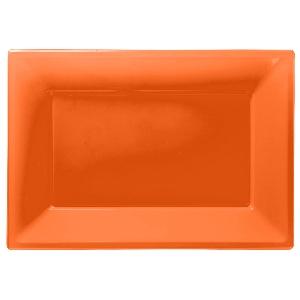 Fuente naranja-23cm x 32cm Plástico