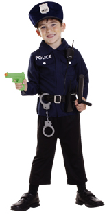 Police role play set 3-6yrs