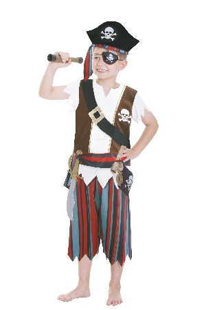 Kids Role Play Set Pirate 3 - 6 Years