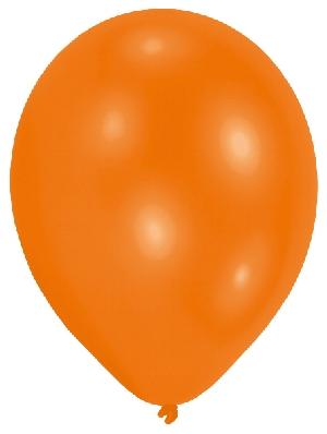 50 Ballons Standard Orange, B7