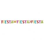 Banderin Fiesta Glitter LetterMulti-Colours