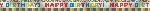 Banderin Primary Rainbow Happy Birthday Foil 7.6m