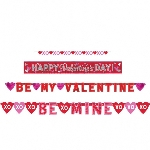 BANDERINS VALUE PACK VALENTINE