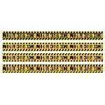 Acc Decoracion Mid Life Crisis Zone Caution Tape Rolls 17.7m x 7.6cm