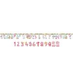 Banderin Magical Unicorn Jumbo Letter Banners 3.2m