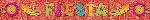 Banderin Fiesta Glitter Fringe 3m