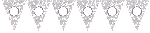 Banderin Paper Personalised Pennant Banner - Silver Elegant Scroll