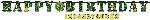Banderin CamouflEdad Add-an-Edad Letter3.2m x 25.4cm