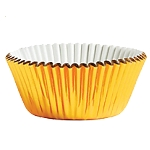 Molde Cup CakeGold Cupcake Cases 50mm