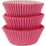 Molde Cup CakeNew Pink Cupcake Cases 50mm