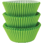 Molde Cup CakeKiwi Green Cupcake Cases 50mm