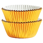 Molde Cup CakeGold Mini Cupcake Cases 30mm