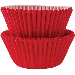 Molde Cup CakeApple Red Mini Cupcake Cases 30mm