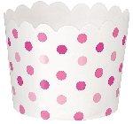 Cesta Pink Buffet Mini Scalloped Cups