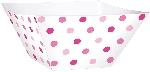 Tarrina Pink Buffet Paper Square Bowls