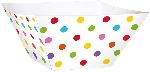 Cesta Rainbow Buffet Paper Square Bowls