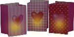 3 Light bolsas Sweet love, asstd