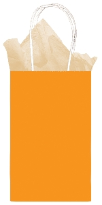 Bolsa Orange Small Paper