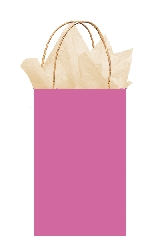 Bolsa papel Bright Pink Gift 21cm x 13cm x 9cm