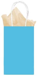 Bolsa Caribbean Blue Small Paper