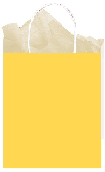 Bolsa papel Sunshine Yellow Gift 25cm x 20cm x 10cm