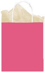 Bolsa papel Bright Pink Gift 25cm x 20cm x 10cm