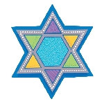 Recortable STAR OF DAVID