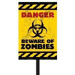 Zombies Plastic Lawn Signs 38Cm H X 27.7Cm W