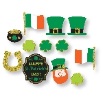 RECORTABLE OUTS ST. PATS 12 PK
