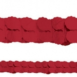 Guirnalda Red Paper Garlands 3.65m