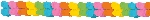 Guirnalda Multi-Colours Paper Garlands 3.65m